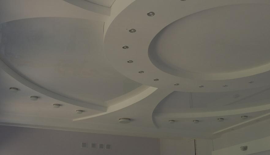 Преимущества гипсокартонных потолков